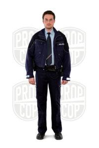 Polizeiuniform NRW mit Krawatte