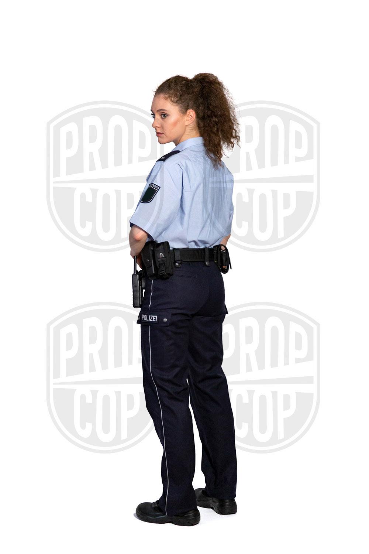 Polizistin NRW Rücken