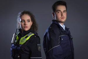 Polizei NRW junges Streifenteam