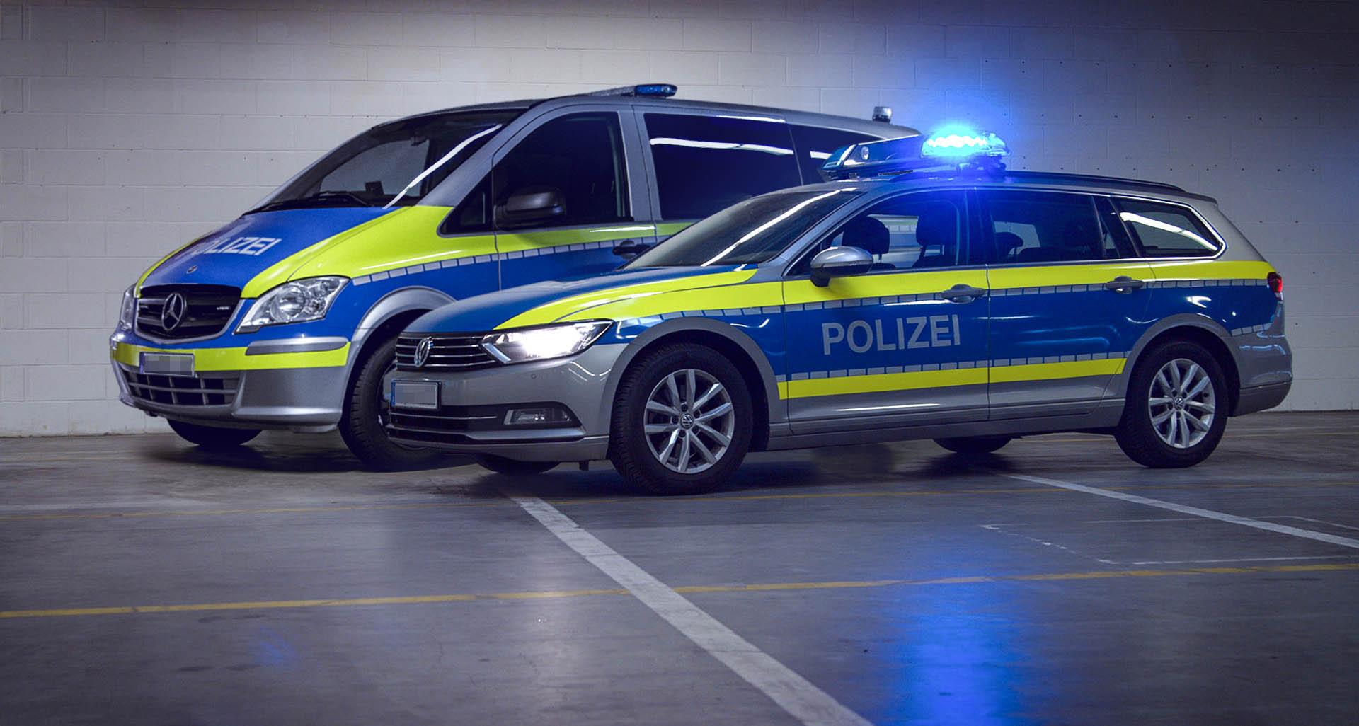 Streifenwagenvermietung Frankfurt