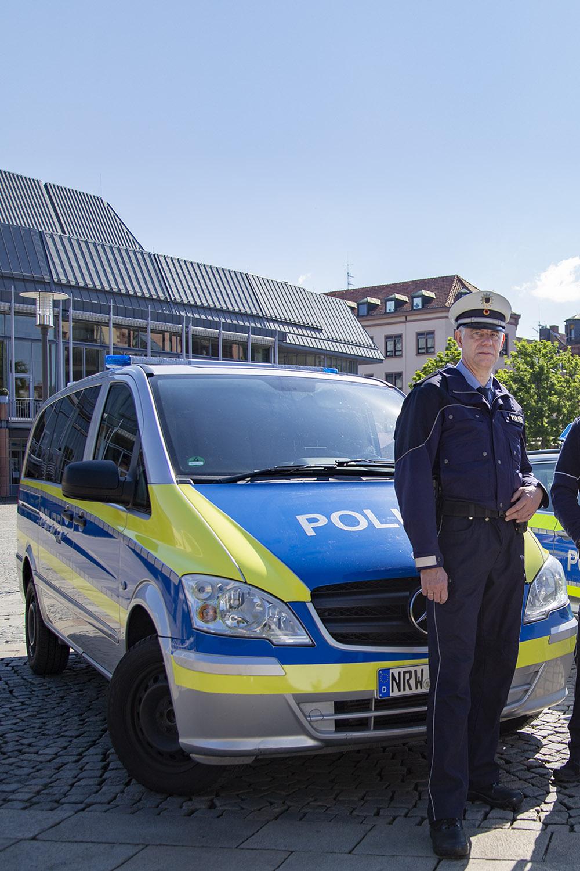 Mercedes Vito Polizeiauto mieten